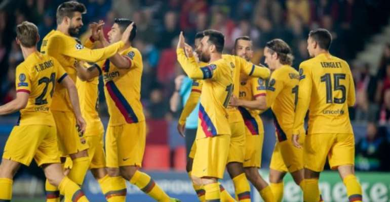 UCL: Messi Breaks Another Record, Liverpool Cruise Past Genk