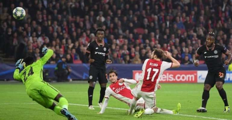 UCL: Batshuayi's Late Strike Gives Chelsea Win At Ajax