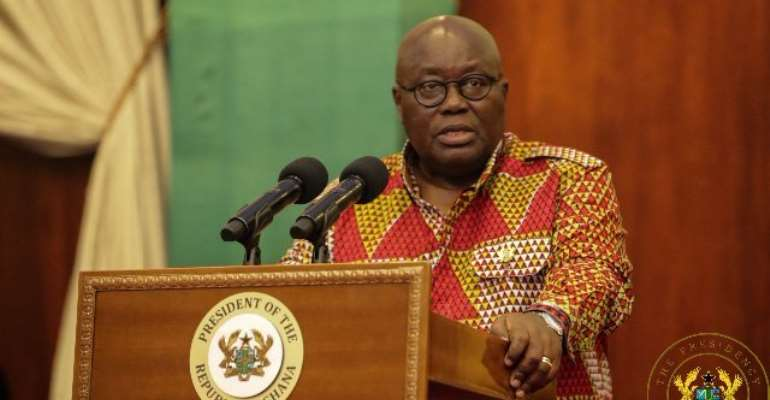 Akufo-Addo's government is a proponent of Ghana Beyond Aid agenda