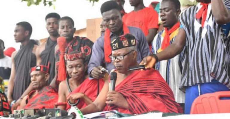 Manya Krobo Paramount Chief Is Power Abuser — Divisional Chiefs