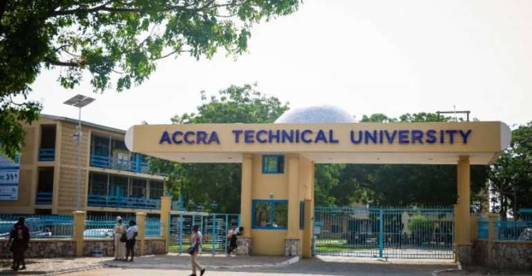 Accra Technical University Students Stage Demo, TUTAG On Strike
