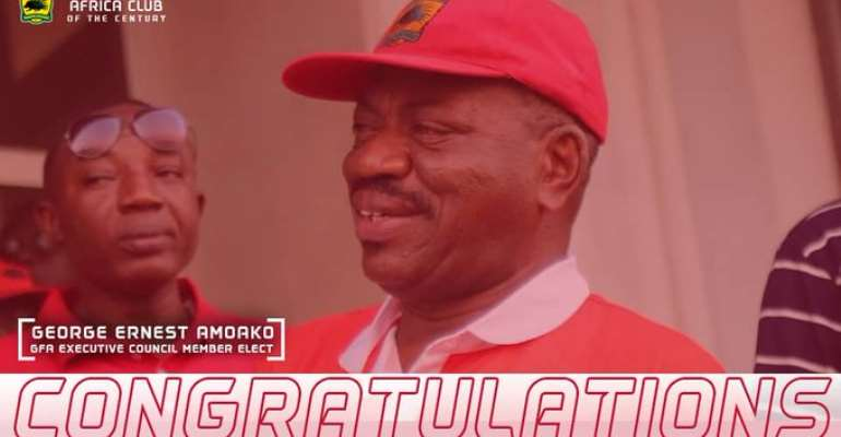 Kotoko Congratulates George Amoako After Earning Slot On GFA Exco