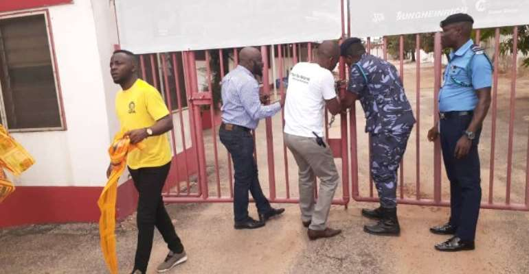 Pasico Ghana Shut Down, Workers Packed Out Over GH¢4.8 million Tax Default