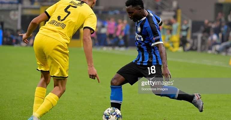 Kwadwo Asamoah Features As Inter Milan Defeat Dortmund At San Siro