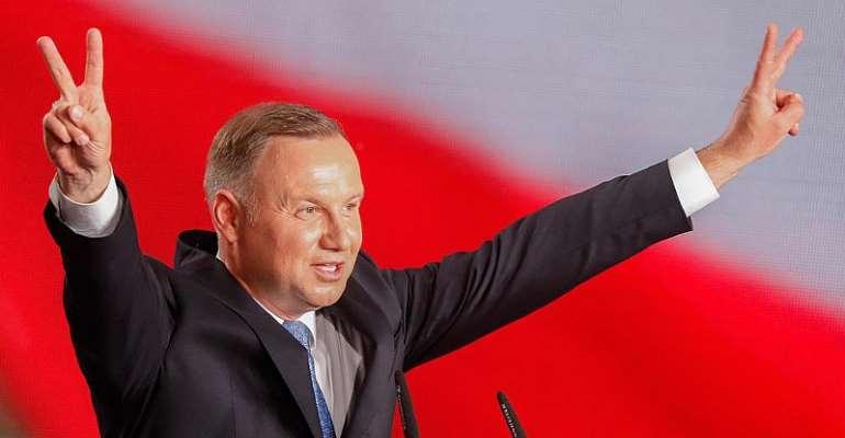 Poland's president Andrzej Duda tests positive for coronavirus