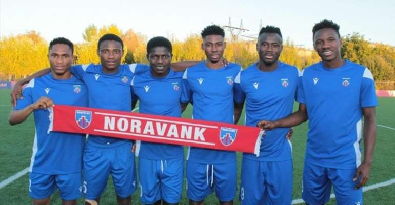 Six Cheetah FC Players Joins Armenian Side Novarank Sporting Club On A Year Loan Deal