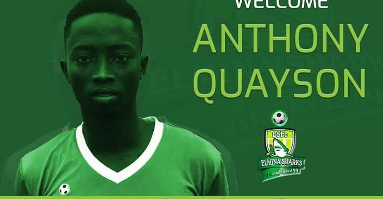 Elmina Sharks Sign Anthony Quayson From Hearts Of Oak