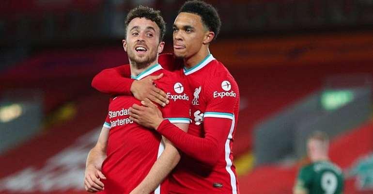 PL: Jota Caps Liverpool Fightback To Sink Sheffield United
