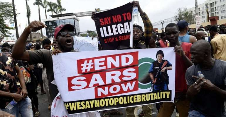 Freedom is non negotiable,End SARs, End security brutality in Africa.