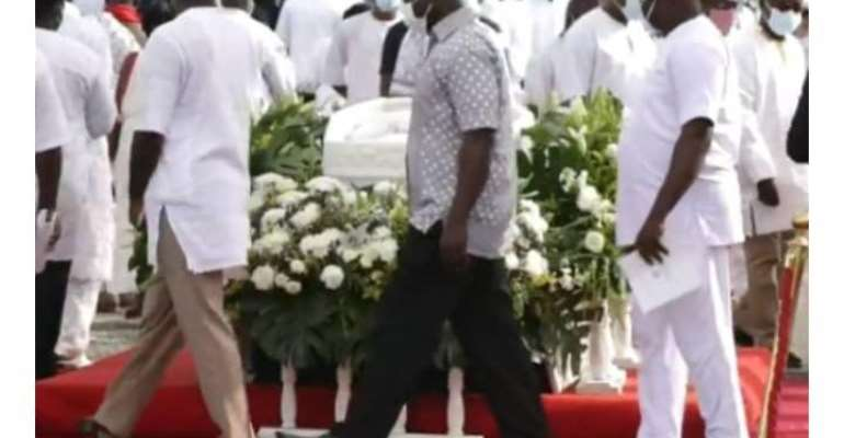 Rawlings Buries Mother Today