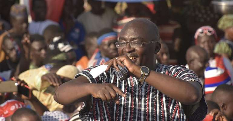 Mahama Left Only 23 E-blocks; We've Added 27 More – Bawumia