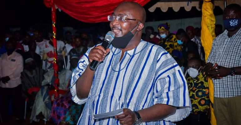 Choose NDC And Take Ghana Two Steps Backward – Bawumia Cautions Electorate