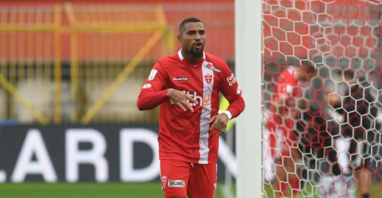 KP Boateng Goal Not Enough As AC Monza Stunned At Home By Chievo