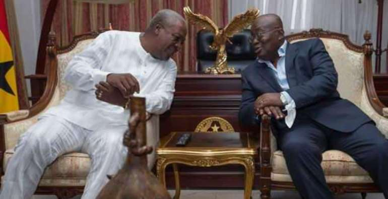 Former and current presidents of Ghana