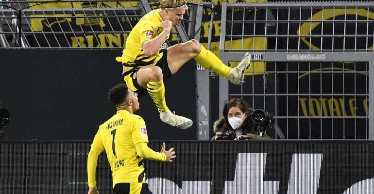 Bungesliga: Erling Haaland Scores As Borussia Dortmund Hit Three To Down Schalke