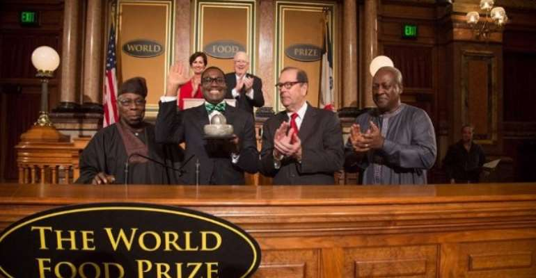 Mahama Receives Commendation As Ex-Nigerian Minister Wins World Food Prize