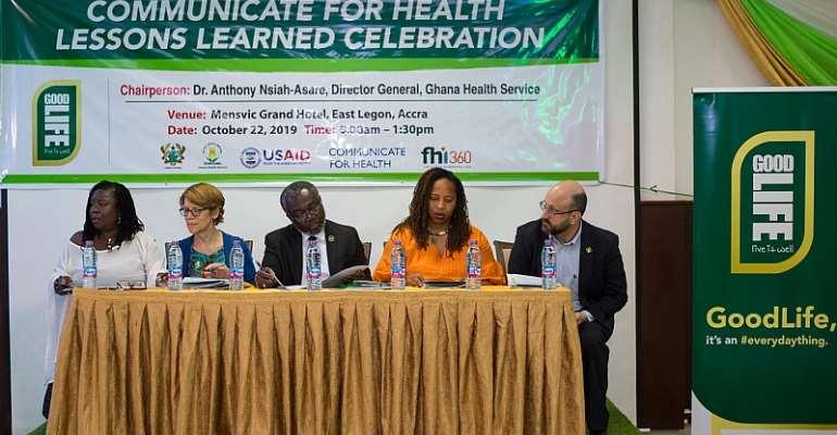 USA Partners Ghana To Promote Healthier Behaviors