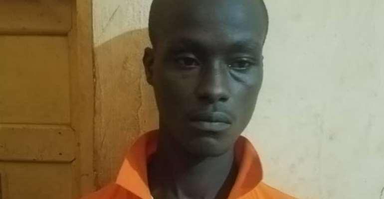 Convict: Akwasi Konadu