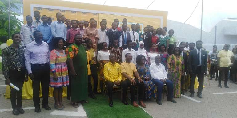 MTN Presents Bright Scholarships Award To 100 Students