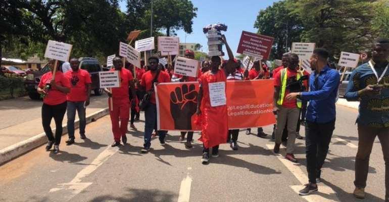 Law Students Sue AG, GLC Over Mass Failure