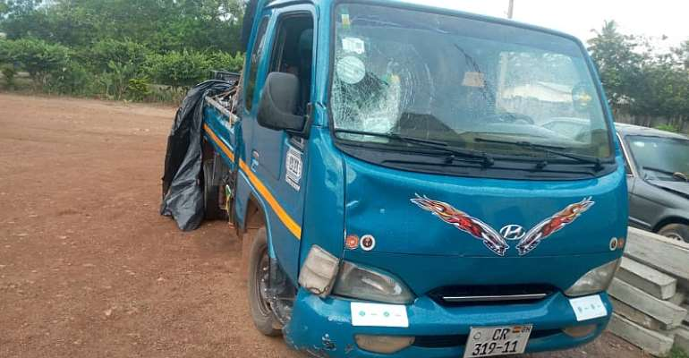 Apam: Truck Crushes Police Officer To Death At Checkpoint