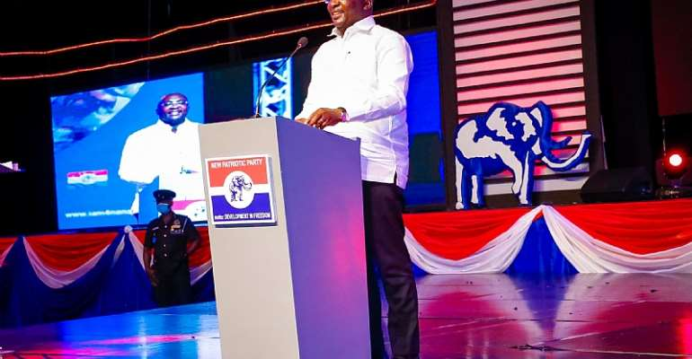 A Choice for NPP is 1 Step Forward; A Choice for NDC is 2 Steps Backward - VP Bawumia