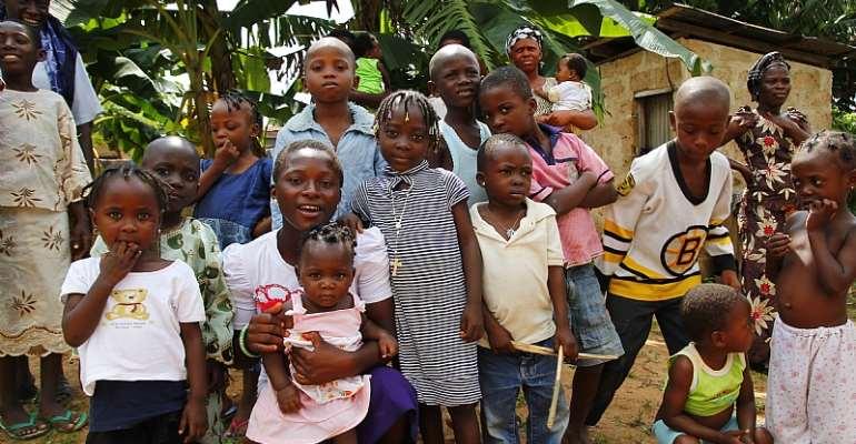 Children playing in a village in Ondo state in Nigeria. - Source: Shutterstock