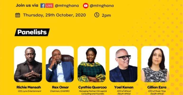 MTN Holds Digital Music Confab To Discuss Content Monetization On October 29