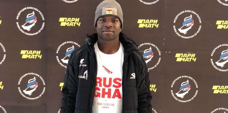 Akwasi Frimpong in Russia