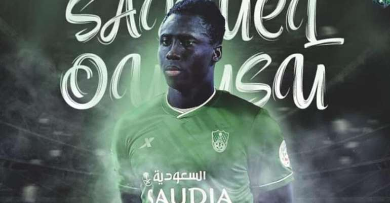 Ghana Forward Samuel Owusu Joins Saudi Giants Al Ahli on loan