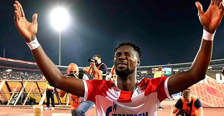 Red Star Belgrade Officially Congratulate Richmond Boakye For New Scoring Record