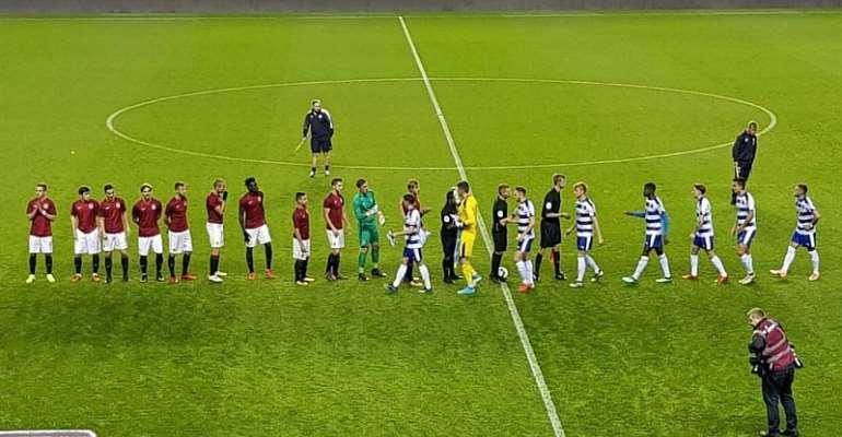 Bashiru Alhassan Stars As Sparta Prague Hold Reading In Premier League International Cup