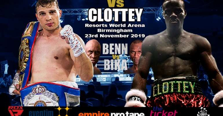 Joshua Clottey To Fight Tommy Jacobs In UK