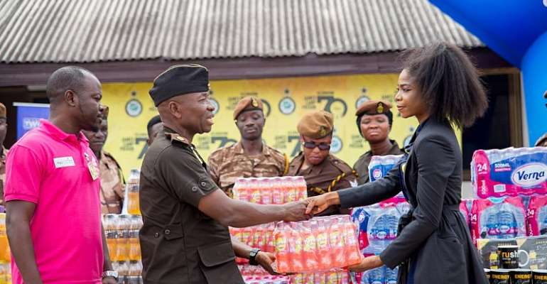 Deputy Director Of Ghana Prison Service Applauds Edem Fairre Support To Inmates