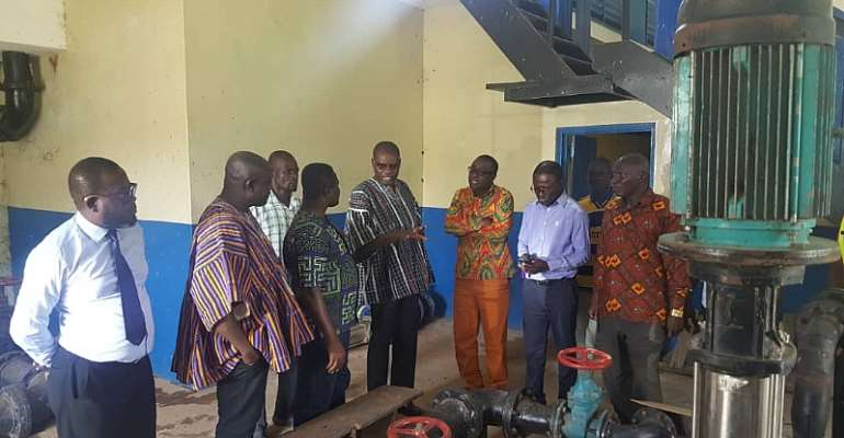 N/R: MD Of Ghana Water Company Inspect Works On Salaga Water Project