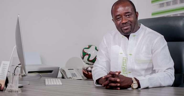 Mr Kurt Okreku, newly elected president of GFA