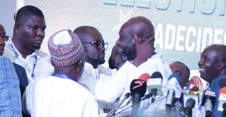 George Afriyie Congratulates New GFA Boss Kurt Okraku