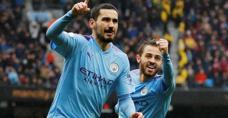 Second-Half Blitz Helps Man City Earn 3-0 Win Over Villa
