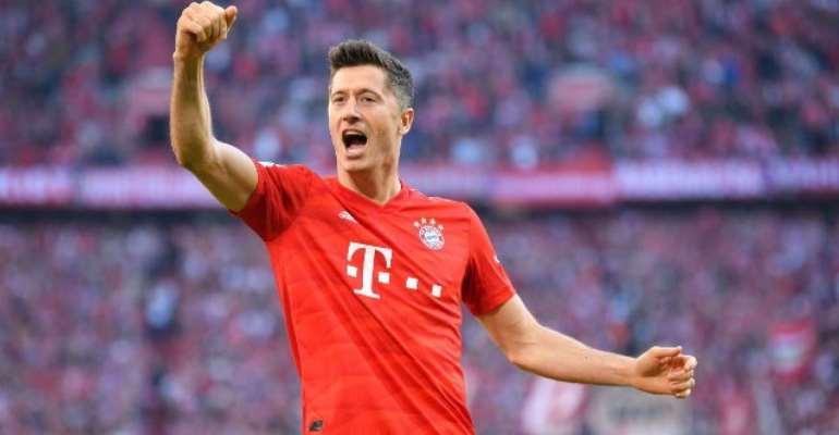 Bundesliga: Lewandowski Into The Record Books As Bayern Move Top