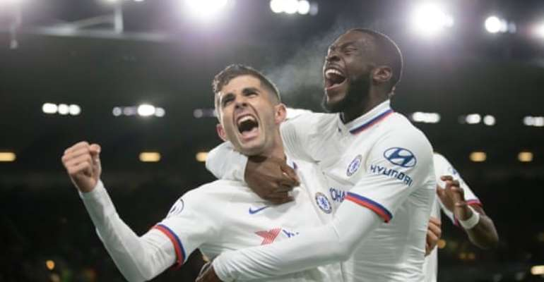 Pulisic's Hat-Trick Fires Chelsea To Seventh Consecutive vVctory