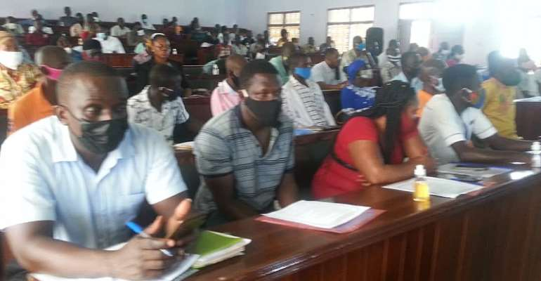 Birim Central: Assembly Trains Unit Committee And Zonal Council Members