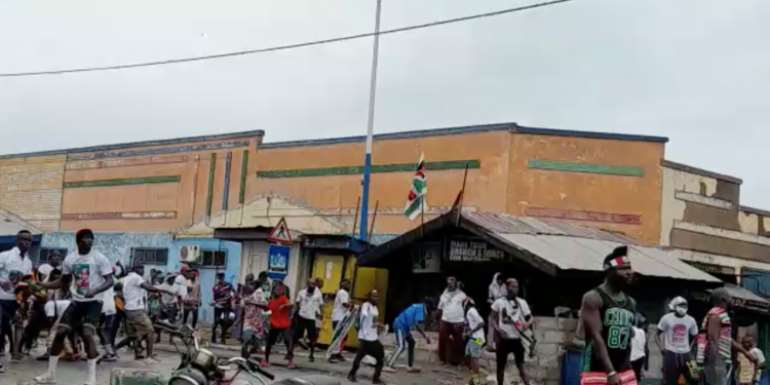 Odododiodoo: Police Comb For Persons Behind Jamestown Clash