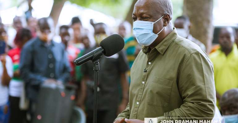 NDC Will Make Ghana Work For Everybody, Not Just A Few — Mahama