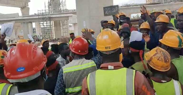 Pokuase Interchange Workers Call-Off Strike