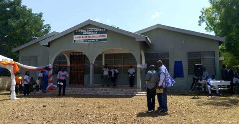 WVG Refurbishes birth & Death Registry In Upper East