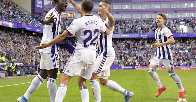 Mohammed Salisu Scores First La Liga Goal As Valladolid Beat Eibar