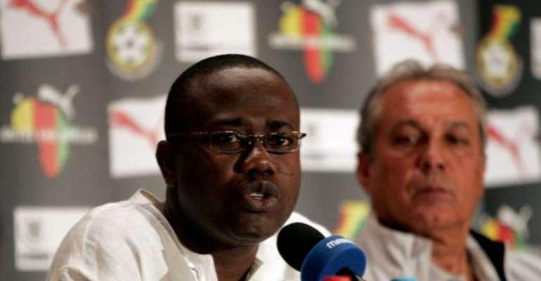 New GFA Boss Kurt Okraku Urged To Tap Into Kwesi Nyantakyi's Experience