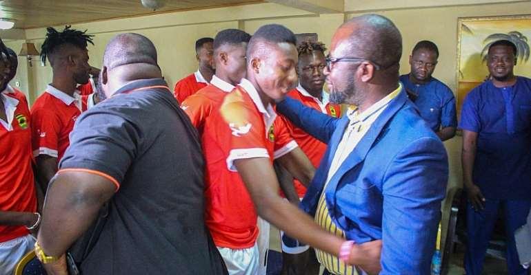 CAF CC: GFA Boss Visits Kotoko Ahead Of San Pedro Clash [PHOTOS]