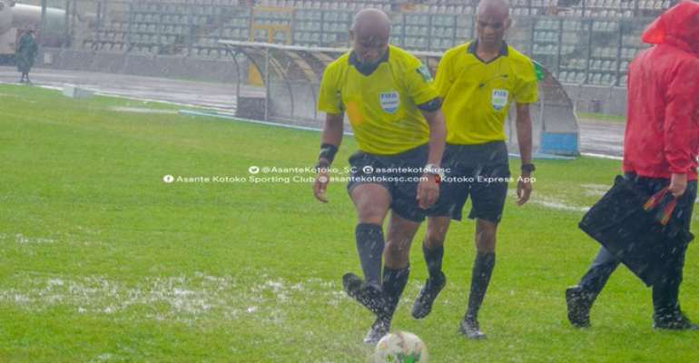 CAF Confederations Cup: Kotoko's Clash With FC San Pedro Rained Off