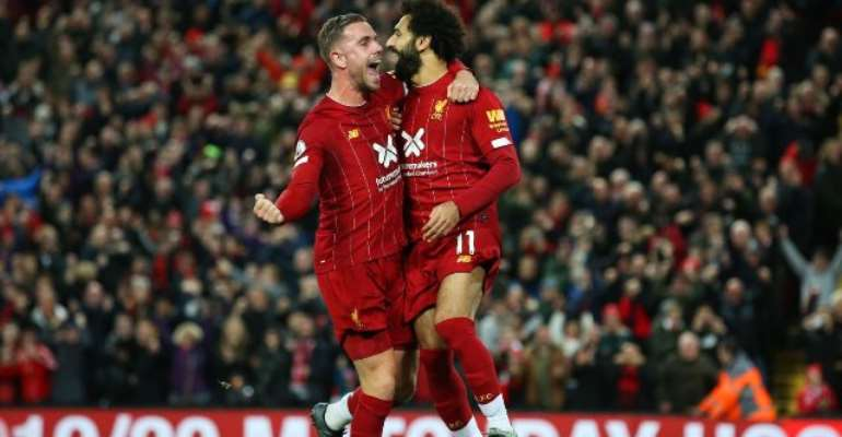 Liverpool Restore Six-Point Lead With Win Over Spurs
